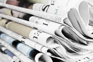 Anzeigen in Zeitungen