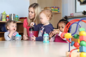Erzieherin in Kindertagesstätte