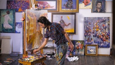 Freiberufliche Künstler