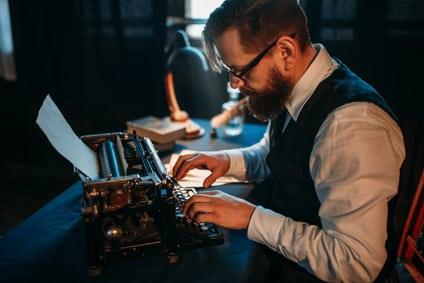Die schriftstellerische Tätigkeit