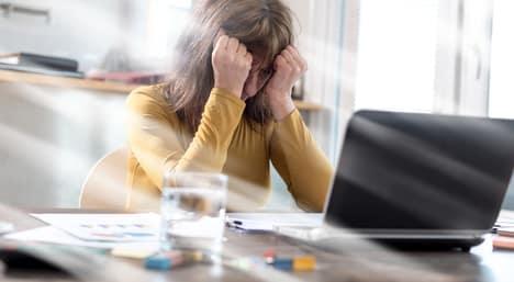 Freiberufler: Arbeitsstress im Büro