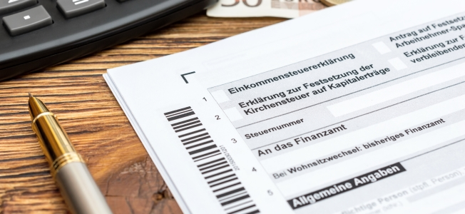 Gilt hinsichtlich der Einkommensteuererklärung eine Grenze?