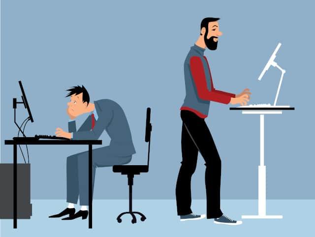 Arbeiten im Stehen: Gute Alternative zum Sitzen