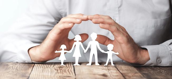 Die gesetzliche Sozialversicherung schützt zum Teil auch Angehörige.