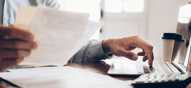 Vorteil beim Online-Konto: Ein solches Geschäftskonto ist leicht zu handhaben.